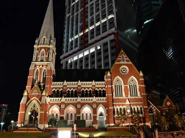 St Albert Church Night
