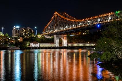 The Story Bridge taken from Holman Street