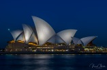 Sydney in the blue hour